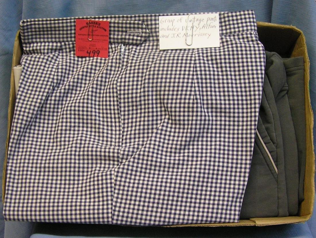 Vintage pants: DKNY, Alfani & J. R. Morrissey