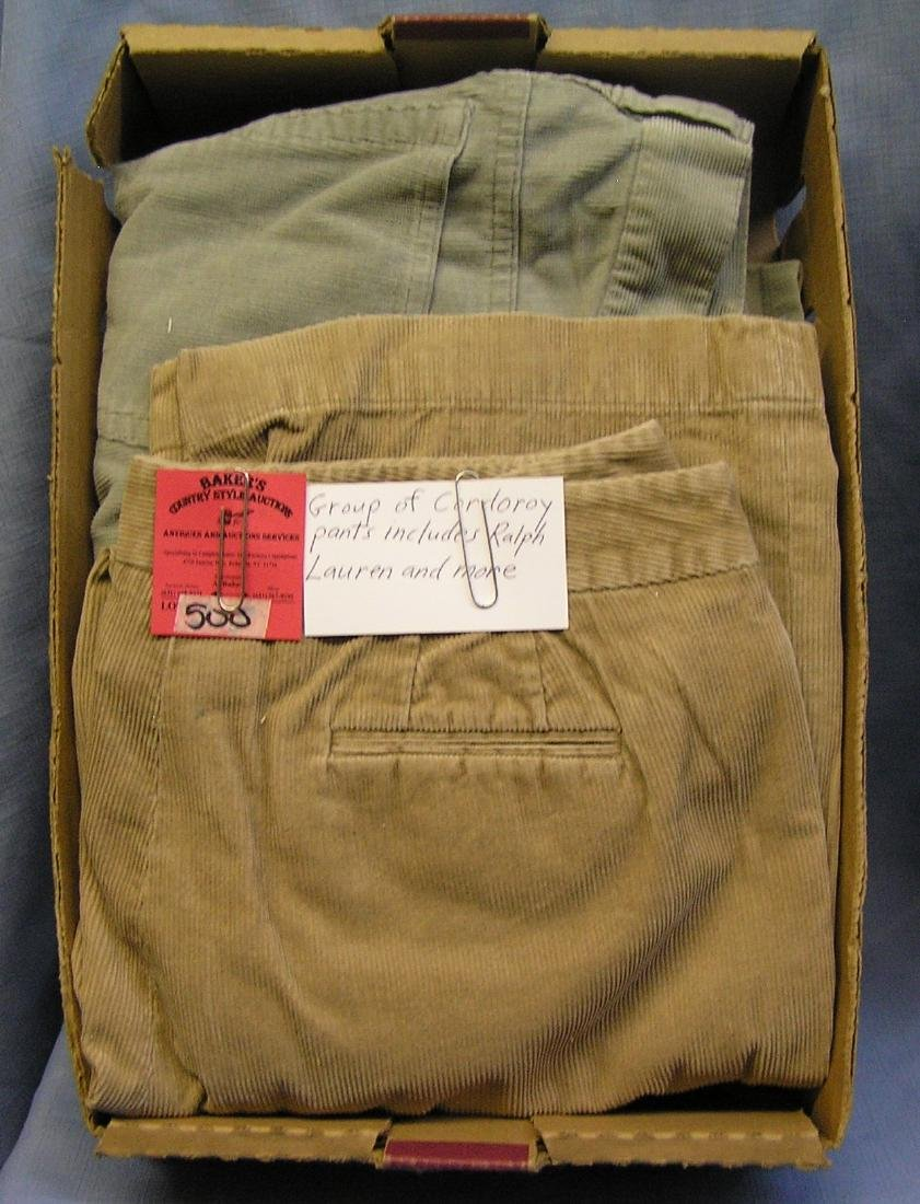 Corduroy pants: Ralph Lauren and more