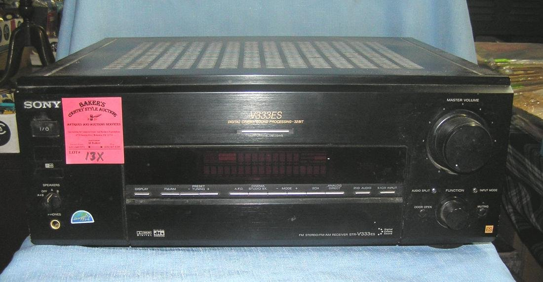 Vintage Sony cinema sound processing unit