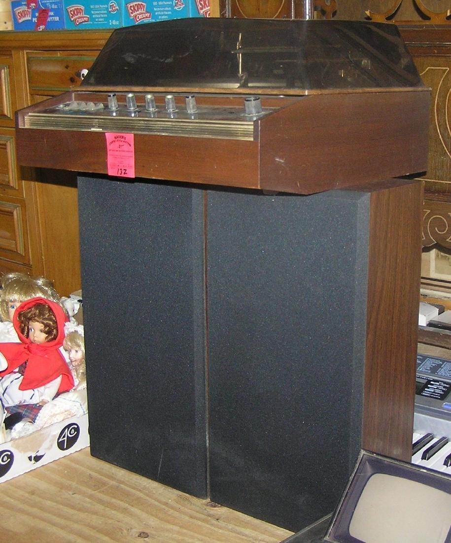 Vintage Garrard SC20 stereo music system