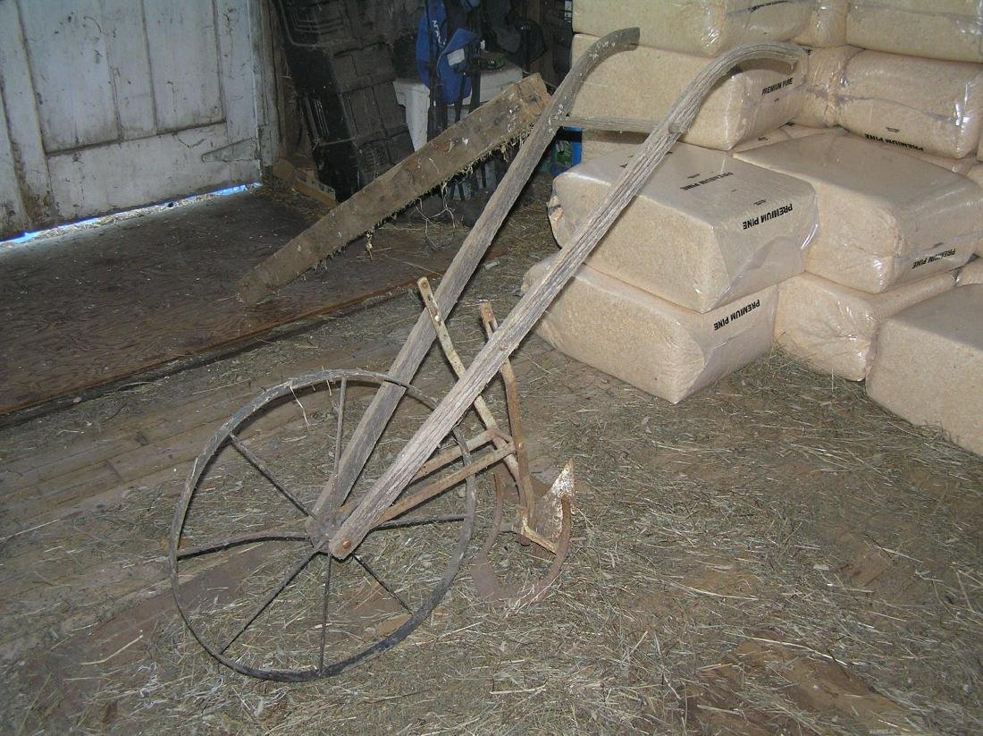 Antique farmer's cultivator