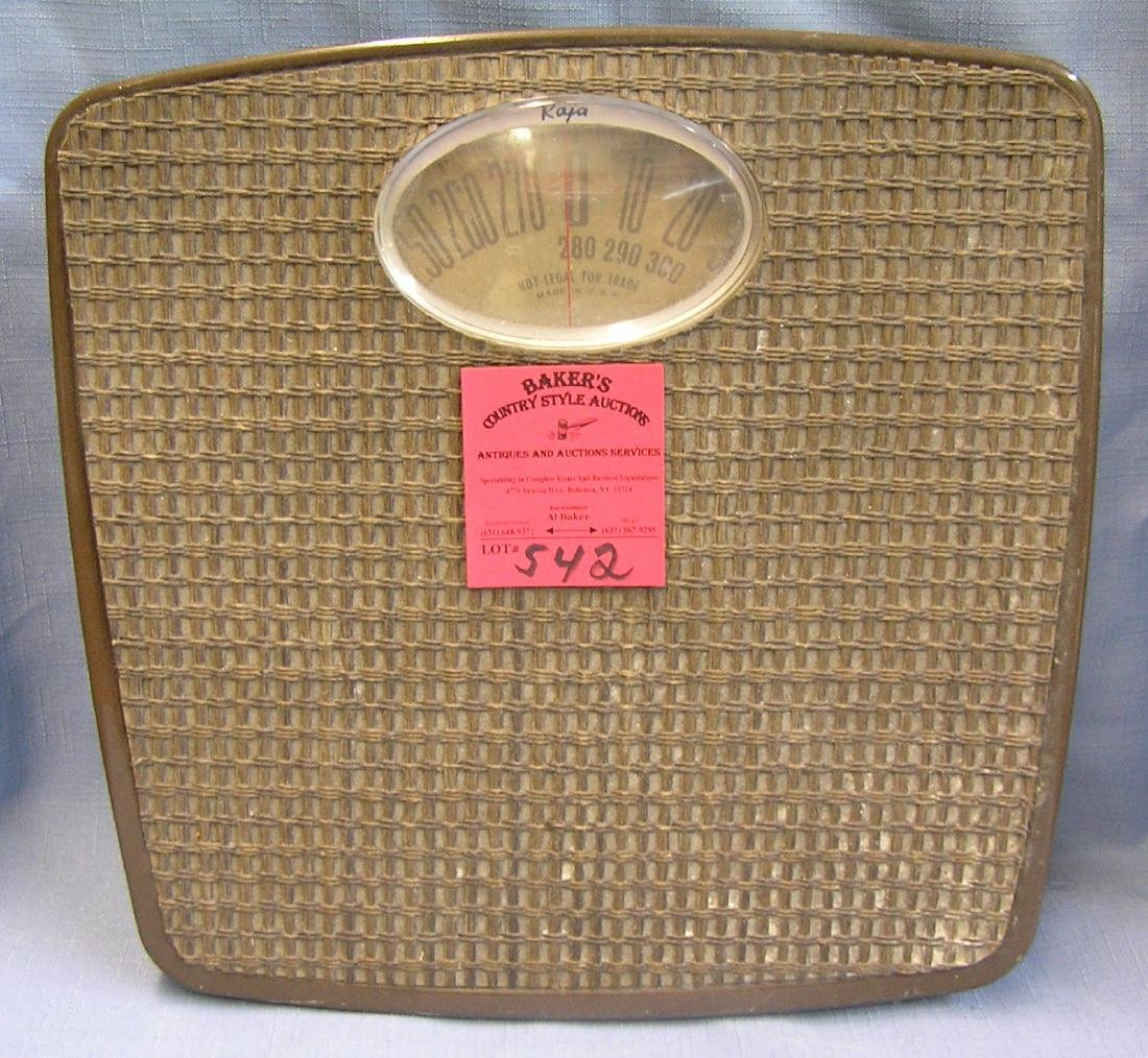 Vintage American made floor scale