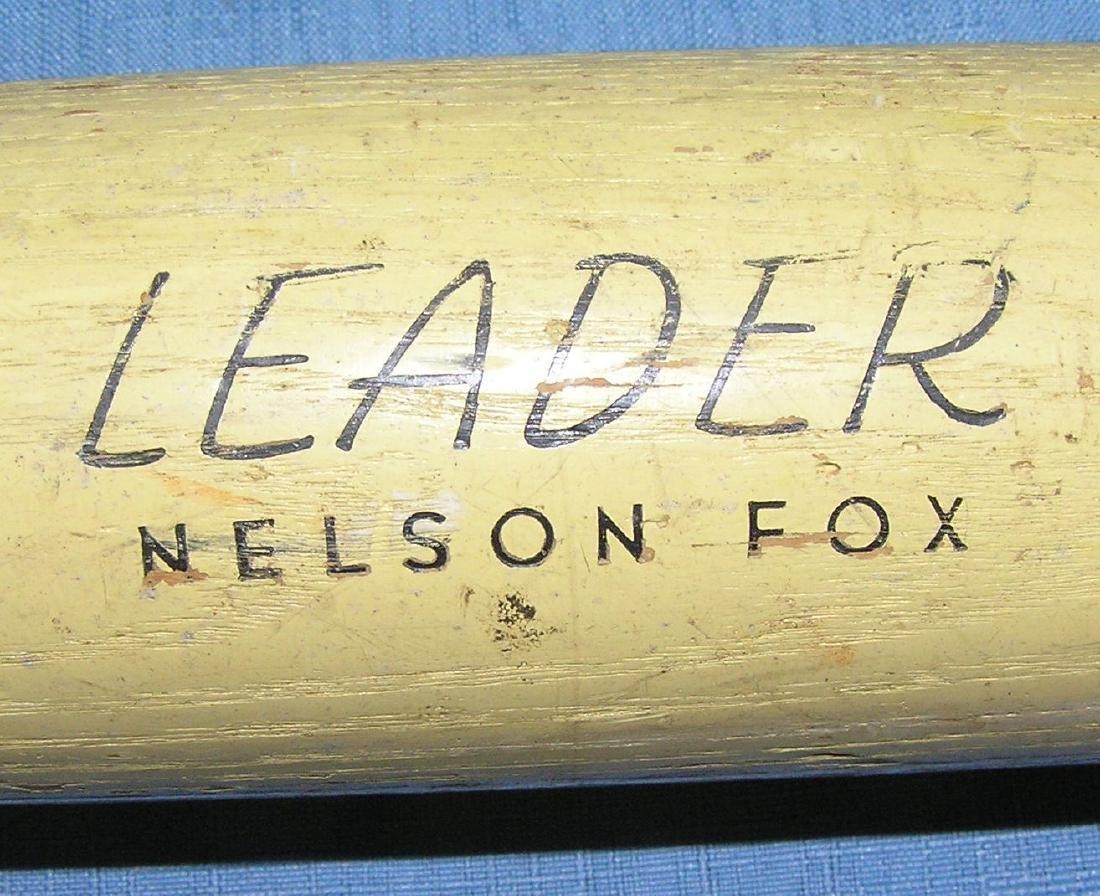Early Nellie Fox Baseball bat - 2