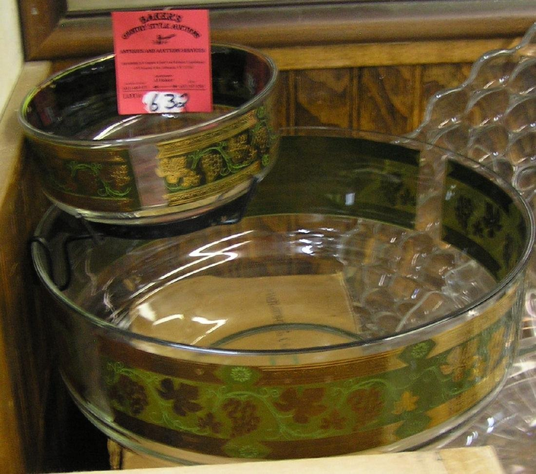 Vintage snack and dip set with original box