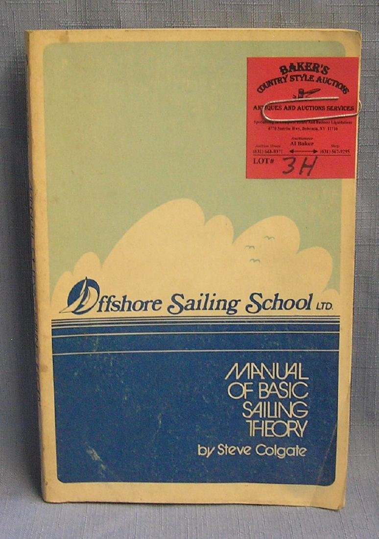 Basic Sailing manual circa 1973