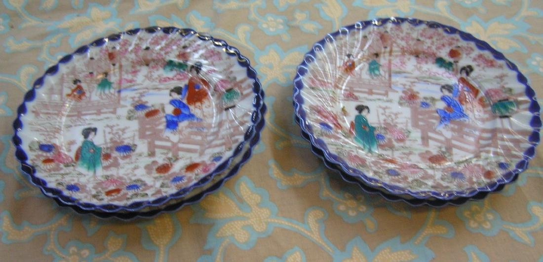 Group of Japanese plates, platters and accessories - 3