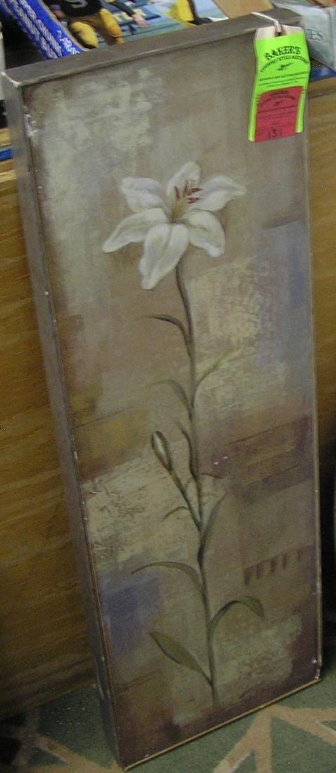 Modern framed oil painting sunflower