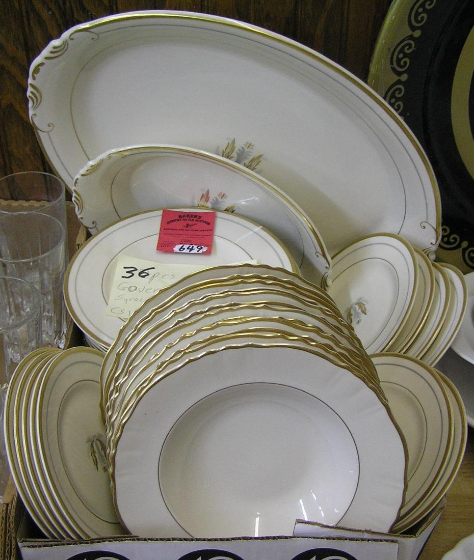 Governor Clinton Syracuse china set