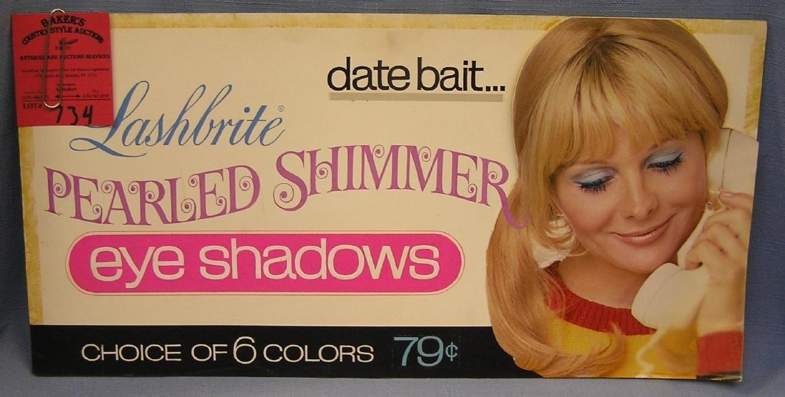 Vintage lash bright advertising art