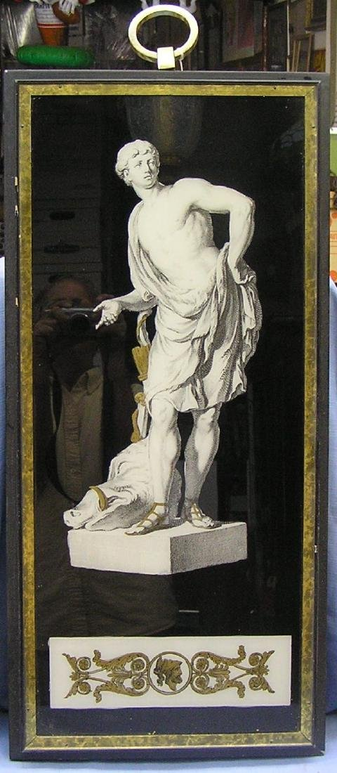 Framed Roman art work