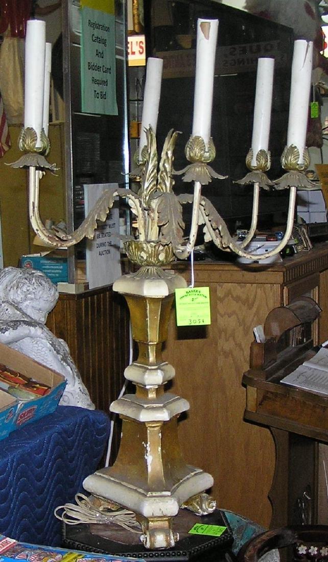 Antique candelabra