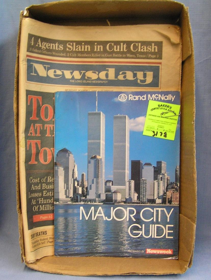 Twin Towers collectibles inc. mags & newspaper