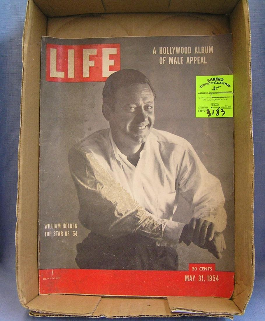 Early LIFE magazine with William Holden