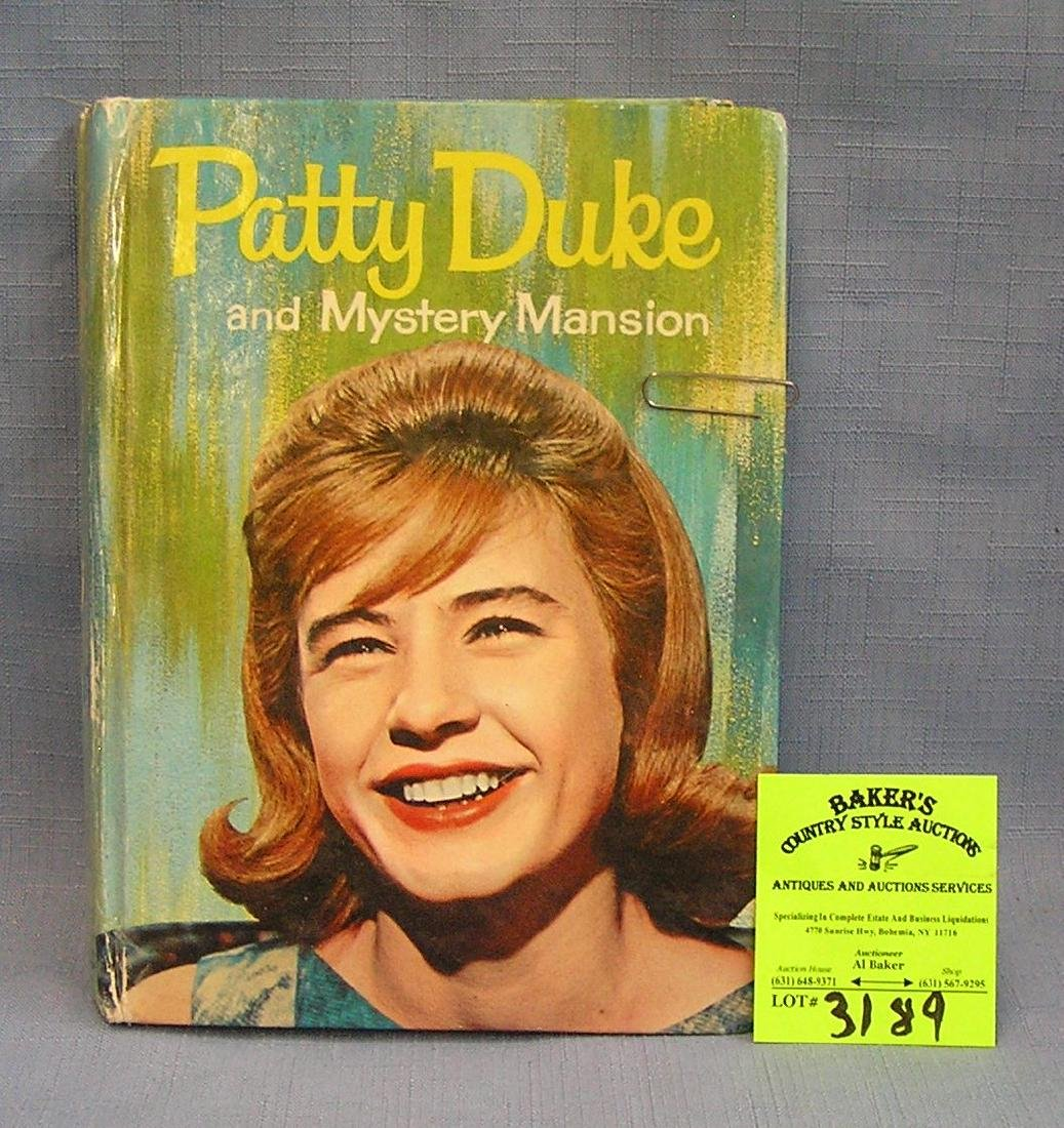 Vintage Patty Duke Mystery Mansion book