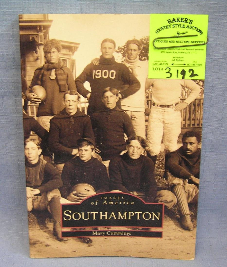 Photo book on South Hampton long island