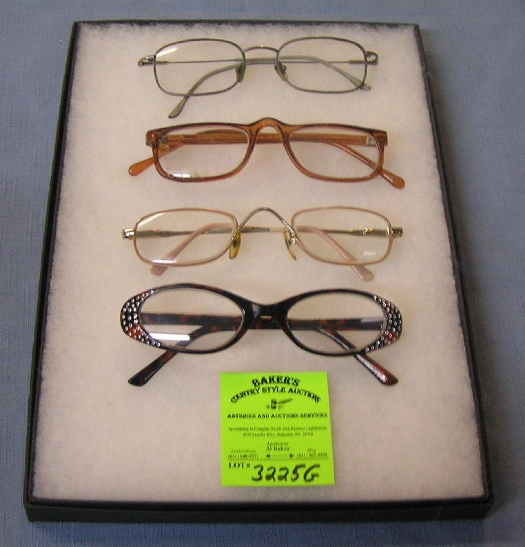 Group of vintage eyewear including Mains