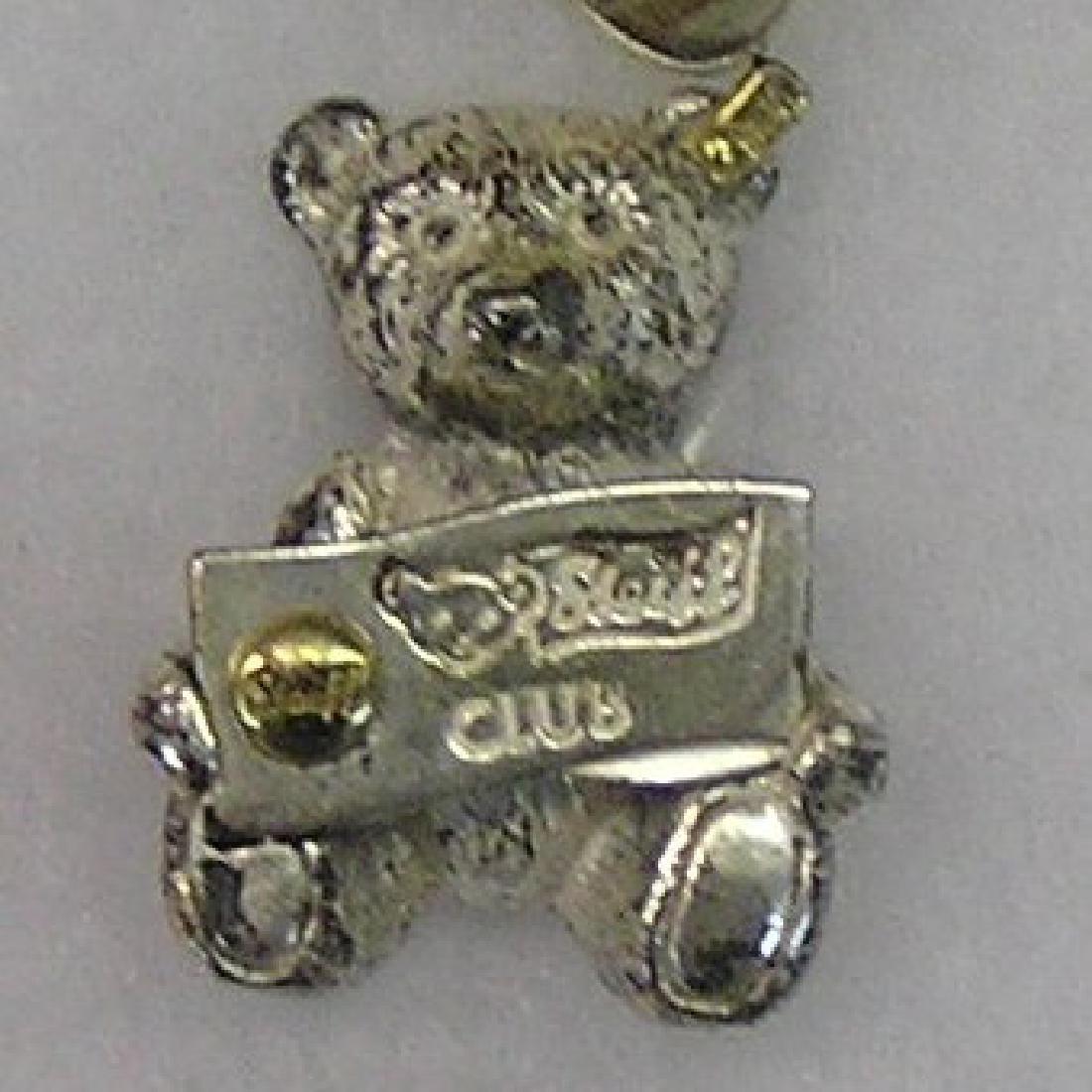 Vintage Stieff collectors club bear pin