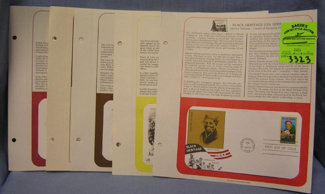 Vintage stamps and first day covers