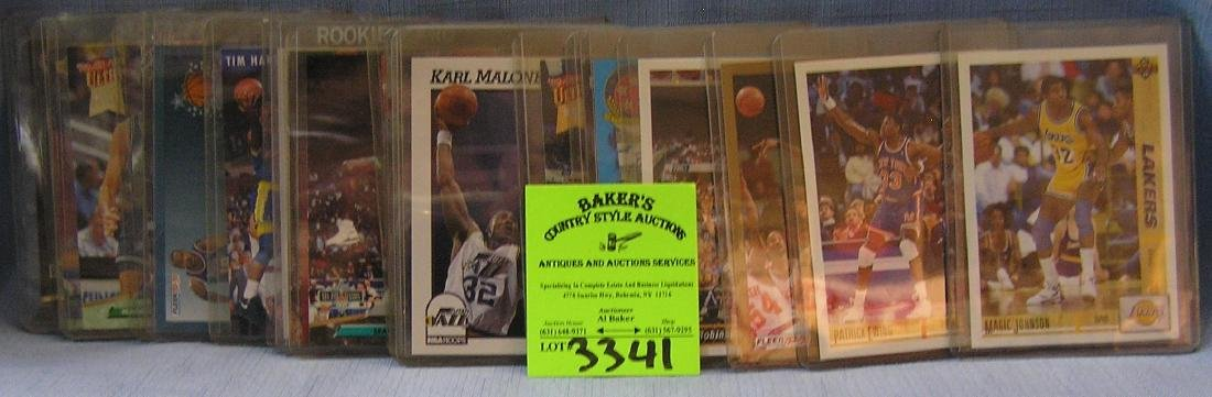 All star basketball cards including rookies