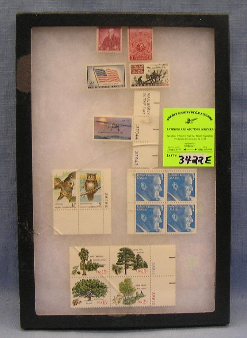 Group of vintage mint US postage stamps
