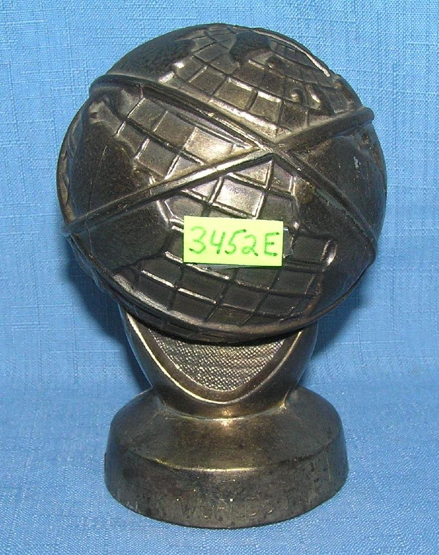 All cast metal 1964 World's Fair bank