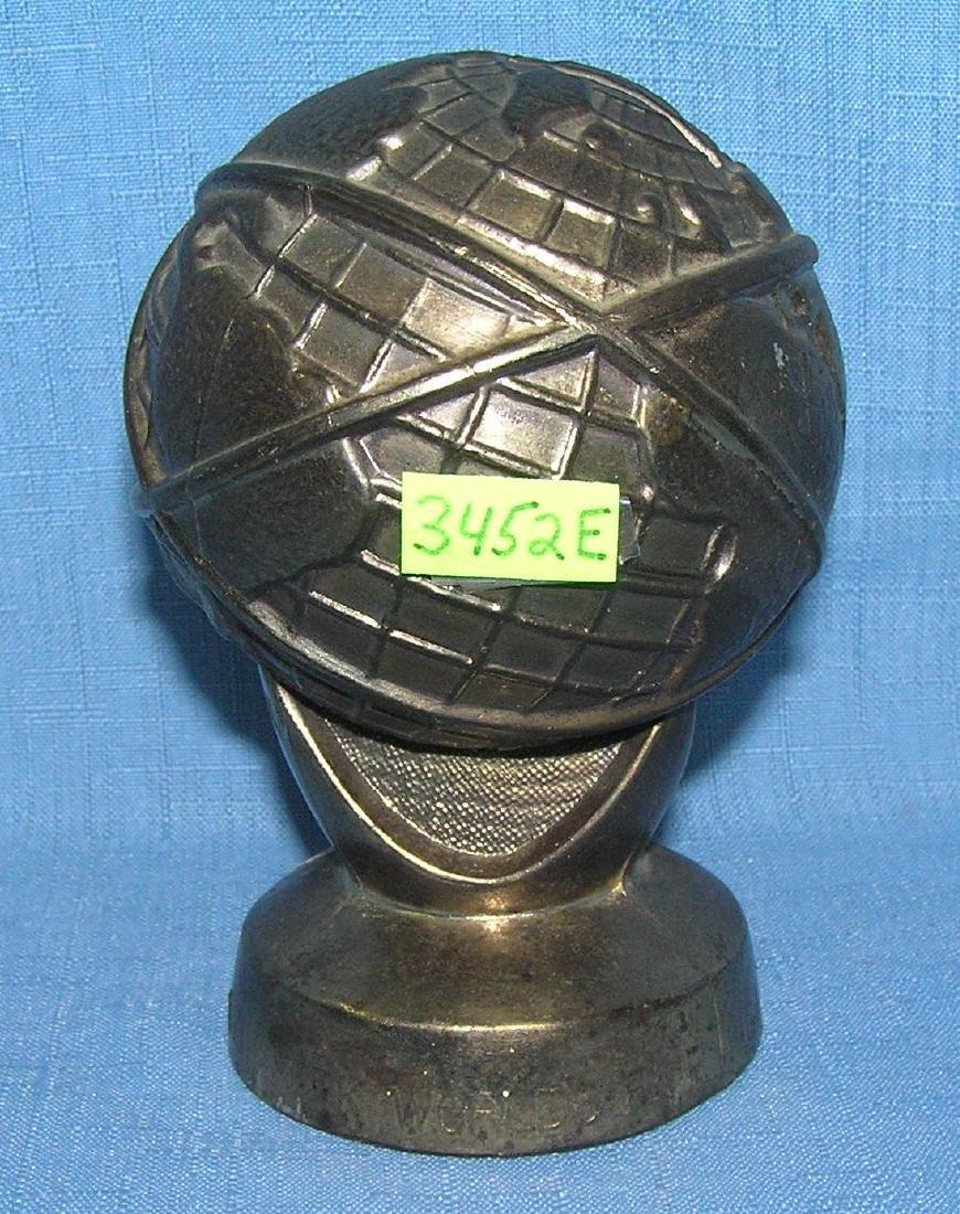All cast metal 1964 World's Fair bank