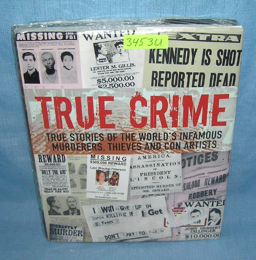 True Crime photo illustrated crime book