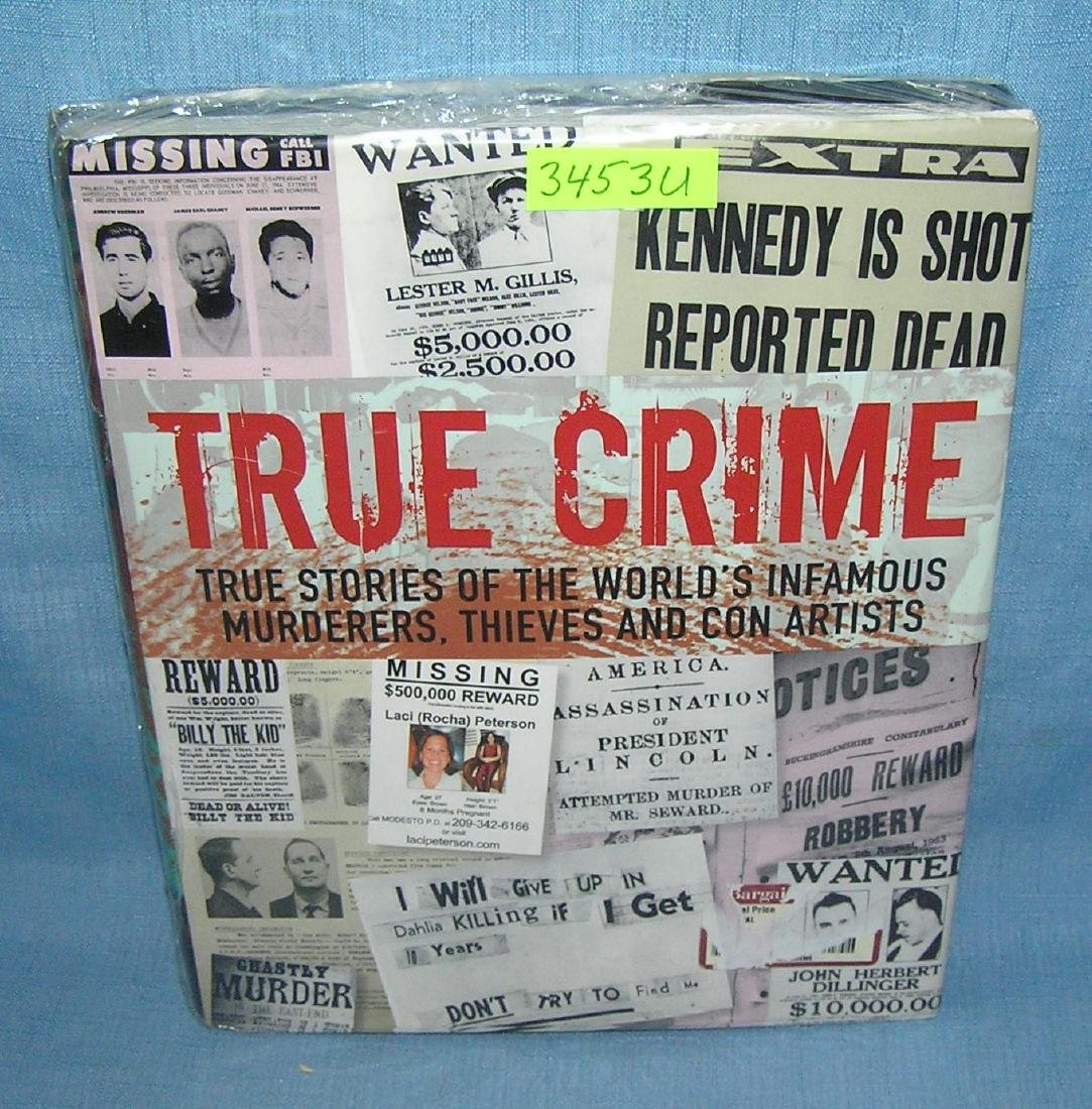 True Crime photo illustrated crime book