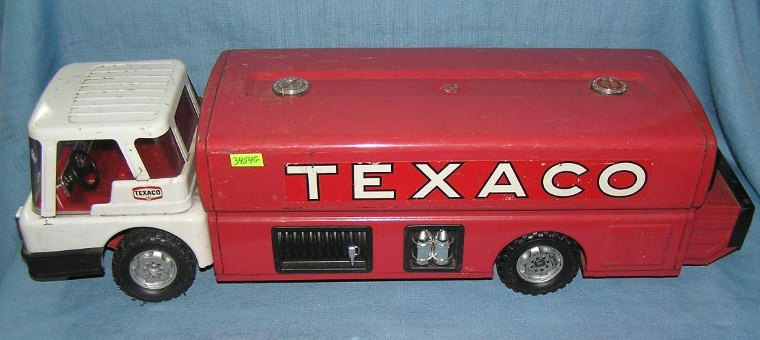 Vintage Texaco fuel delivery truck