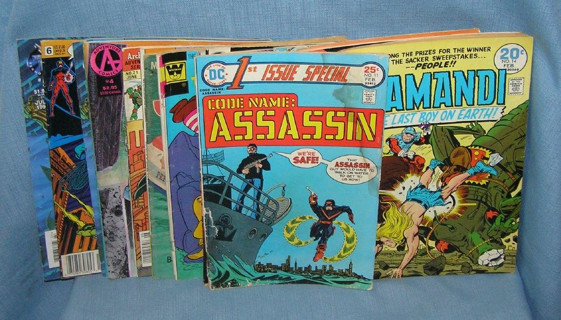 Group of vintage DC and misc. comic books