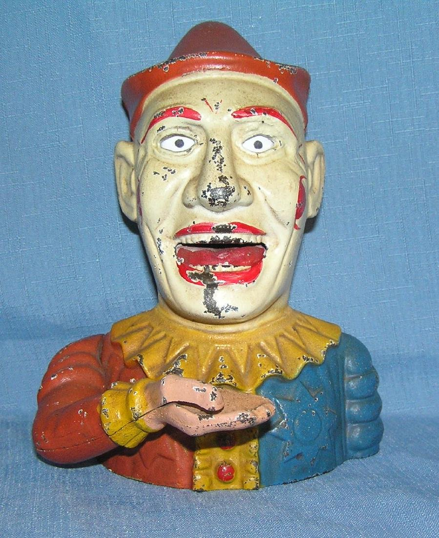 Humpty Dumpty the clown mechanical bank