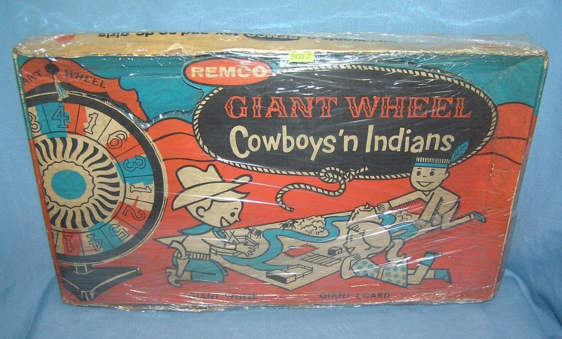 Giant Wheel cowboys and Indians Remco Toys