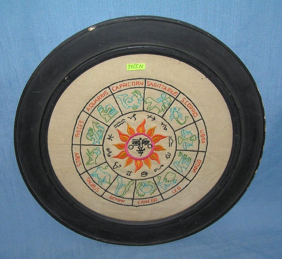 Early Astrology circle chart