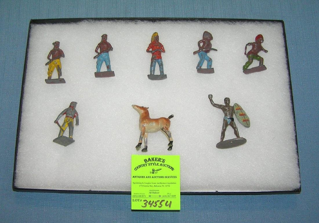 Collection of American Indian figures