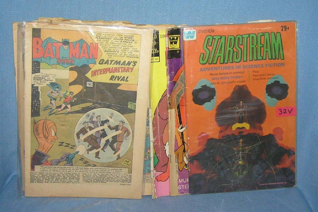 Group of vintage comic books