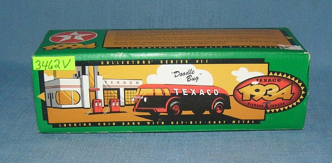 Texaco cast metal delivery truck bank