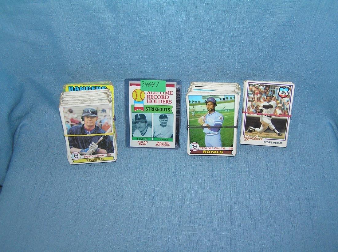 Nice group of vintage baseball cards