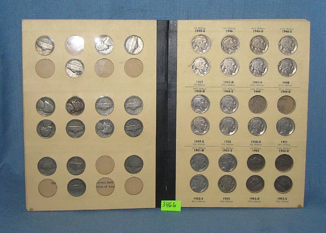 Collection of vintage US nickels - 3