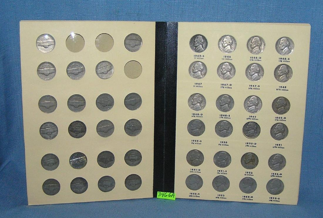 Collection of vintage US nickels - 2