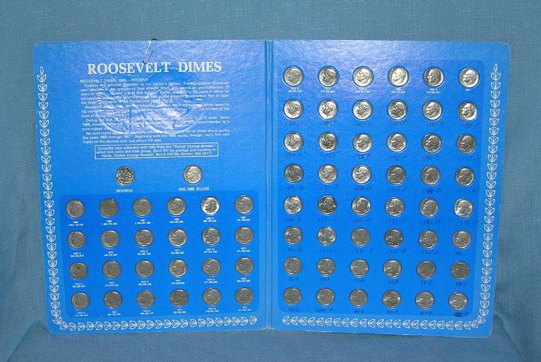 Roosevelt dime collection 1965 to date