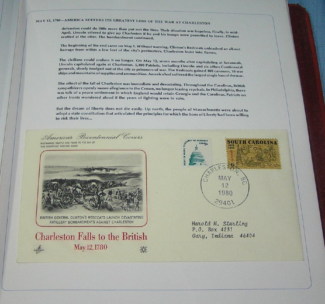 America's Bicentennial stamp cover collection