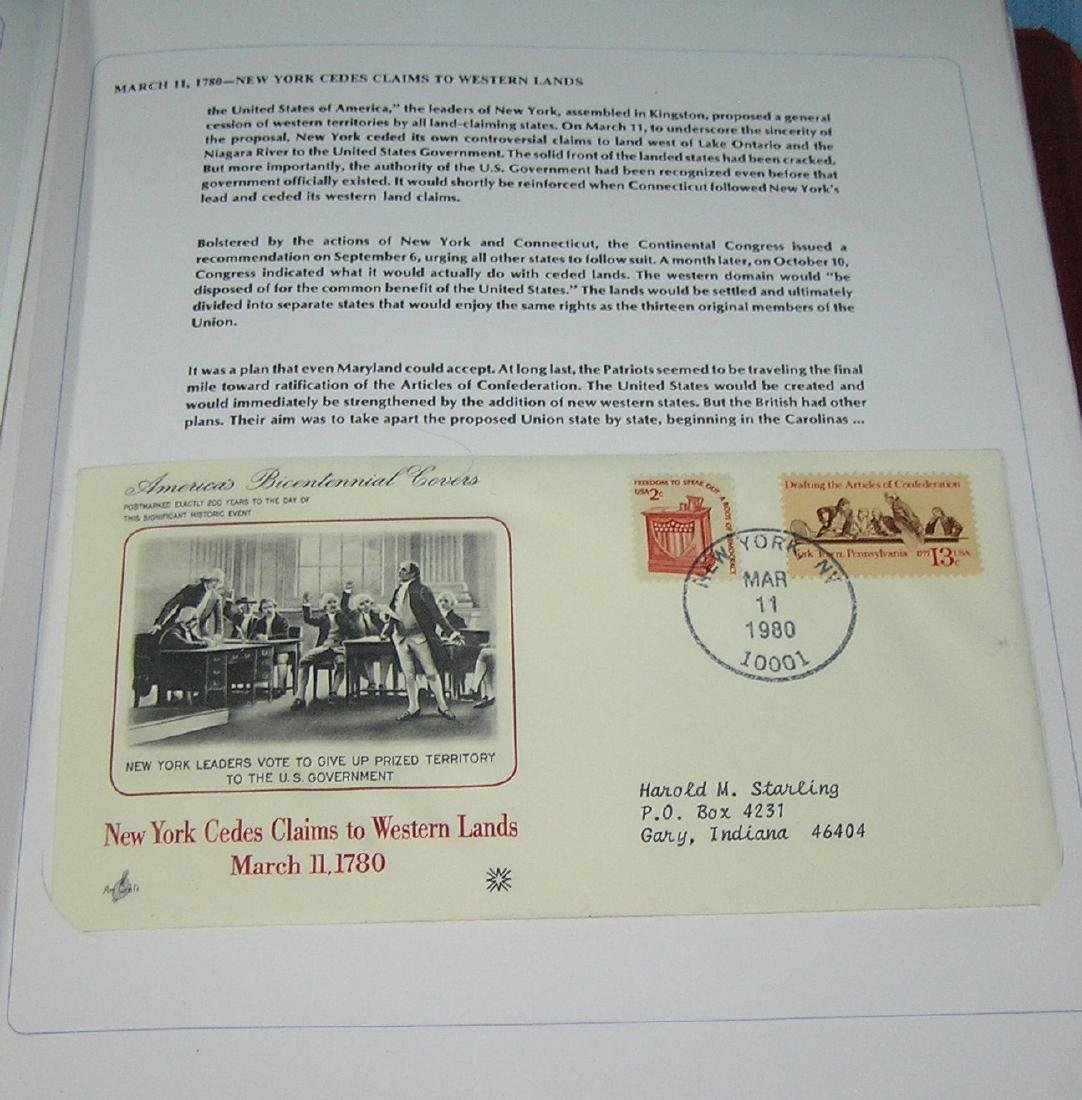 America's Bicentennial stamp cover collection - 2