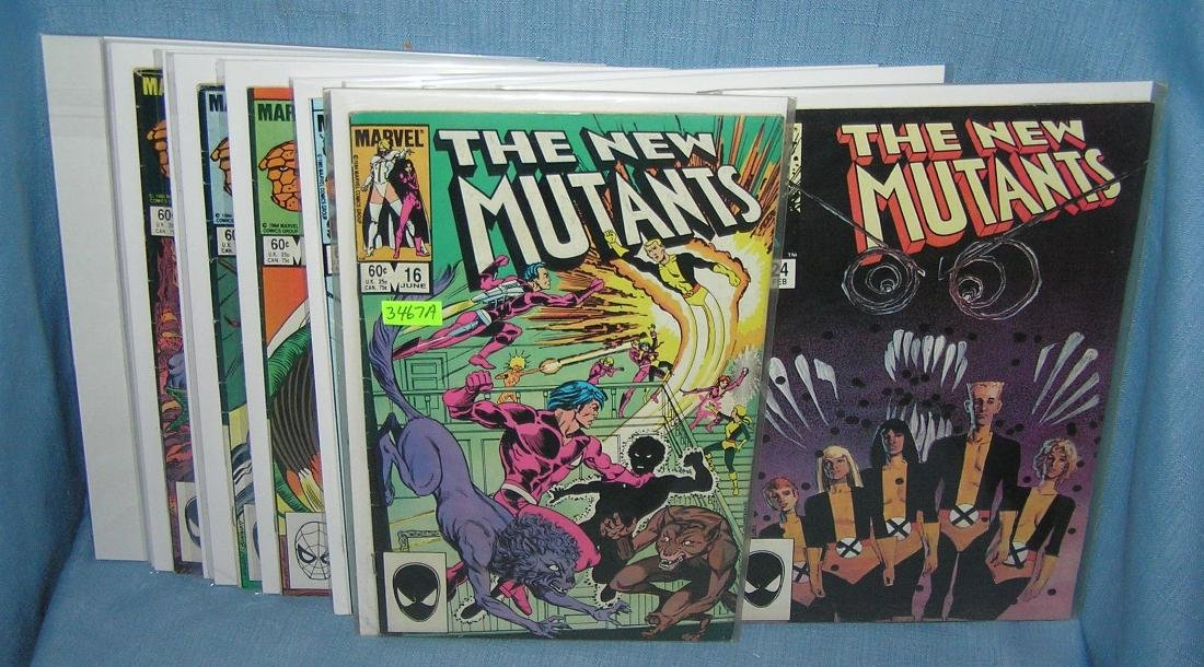 Nice group of early Marvel comic books