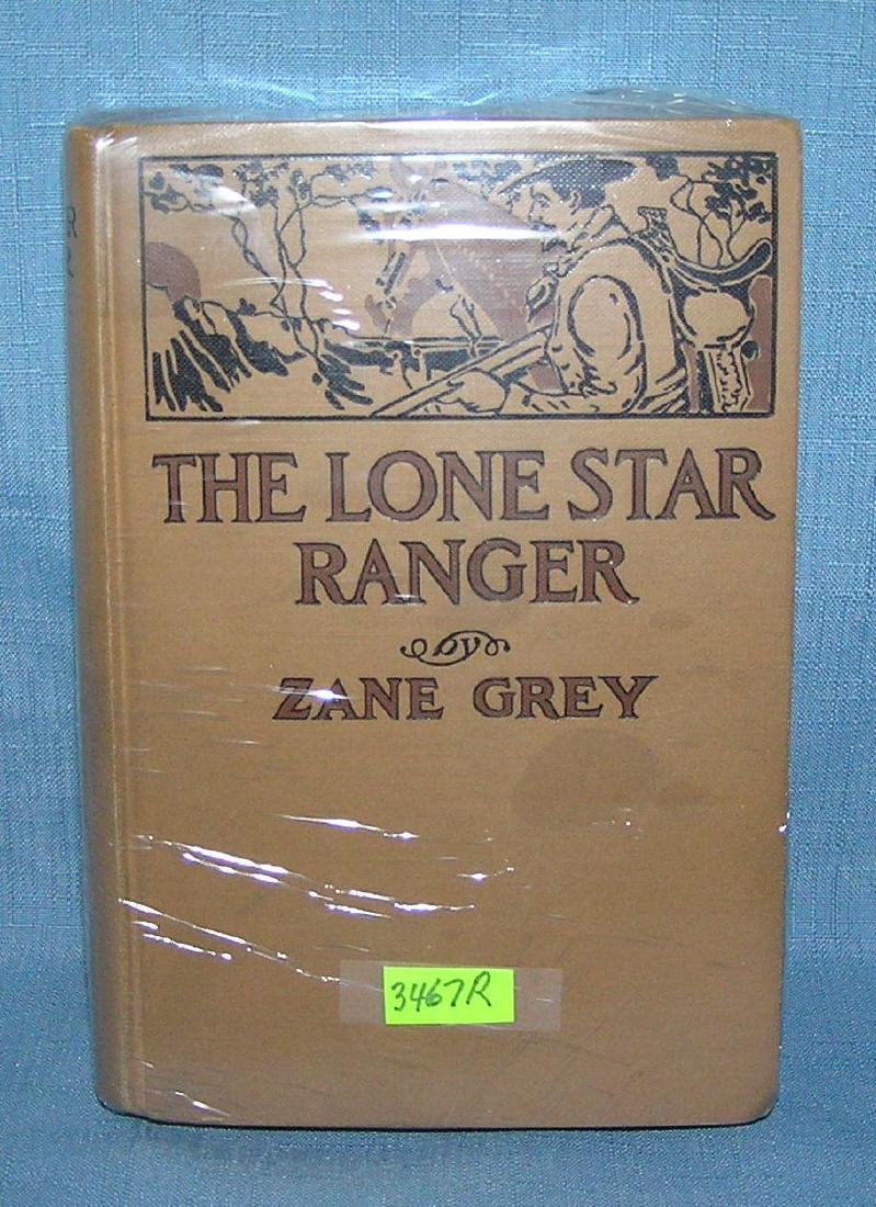 The Lone Star Range by Zane Grey