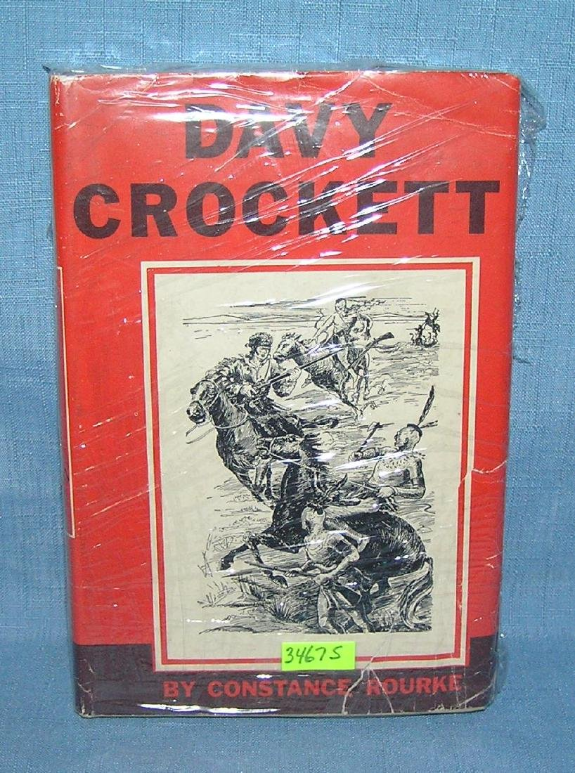Davy Crockett by Constance Rourke