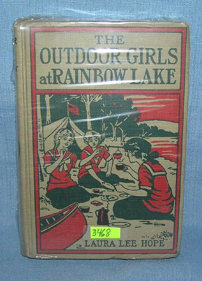 The Outdoor Girls and Rainbow Lake 1913