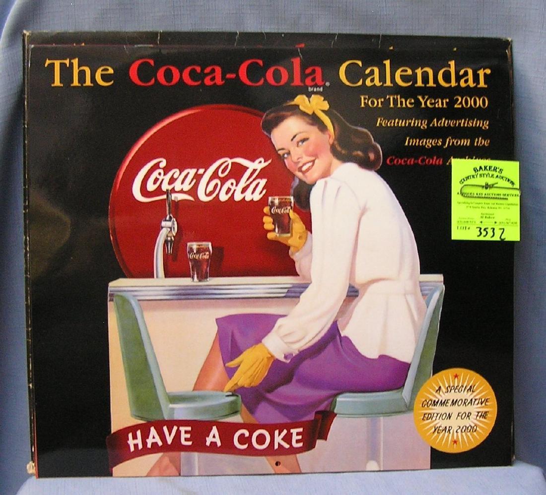 Coca Cola limited edition collectors calendar