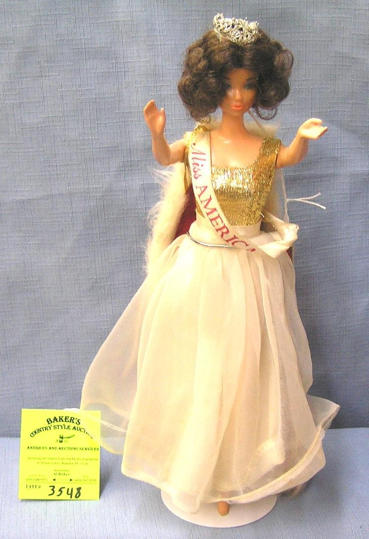 Great early Miss America Barbie