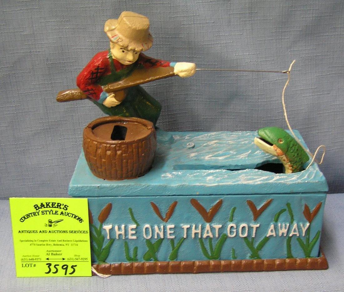 The One That Got Away fisherman bank