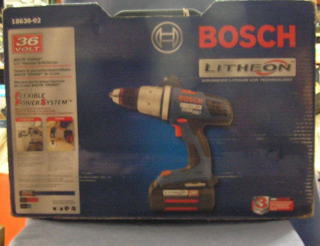 Bosch litheon hammer drill/driver kit